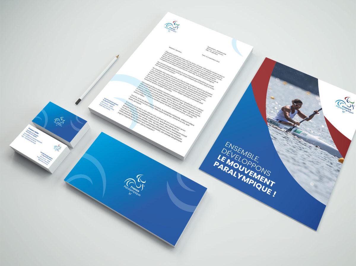 Comite Paralympique charte graphique 4aout