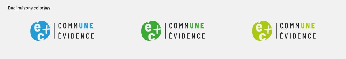 Evry courcouronne   logos declinaisons
