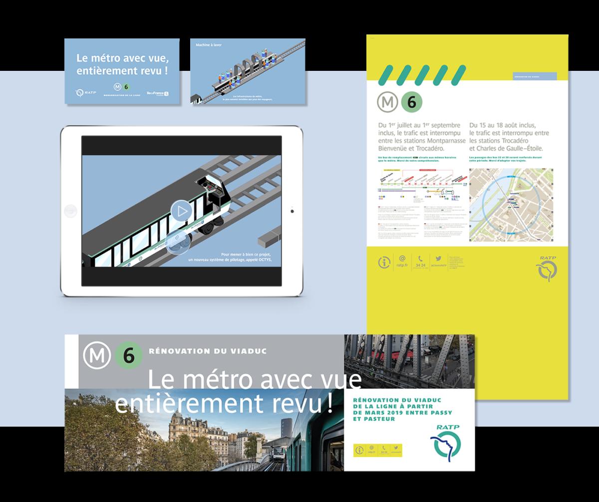 RATP agence 4aout motion design