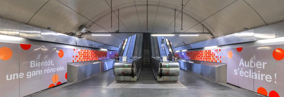 RATP communication chantier