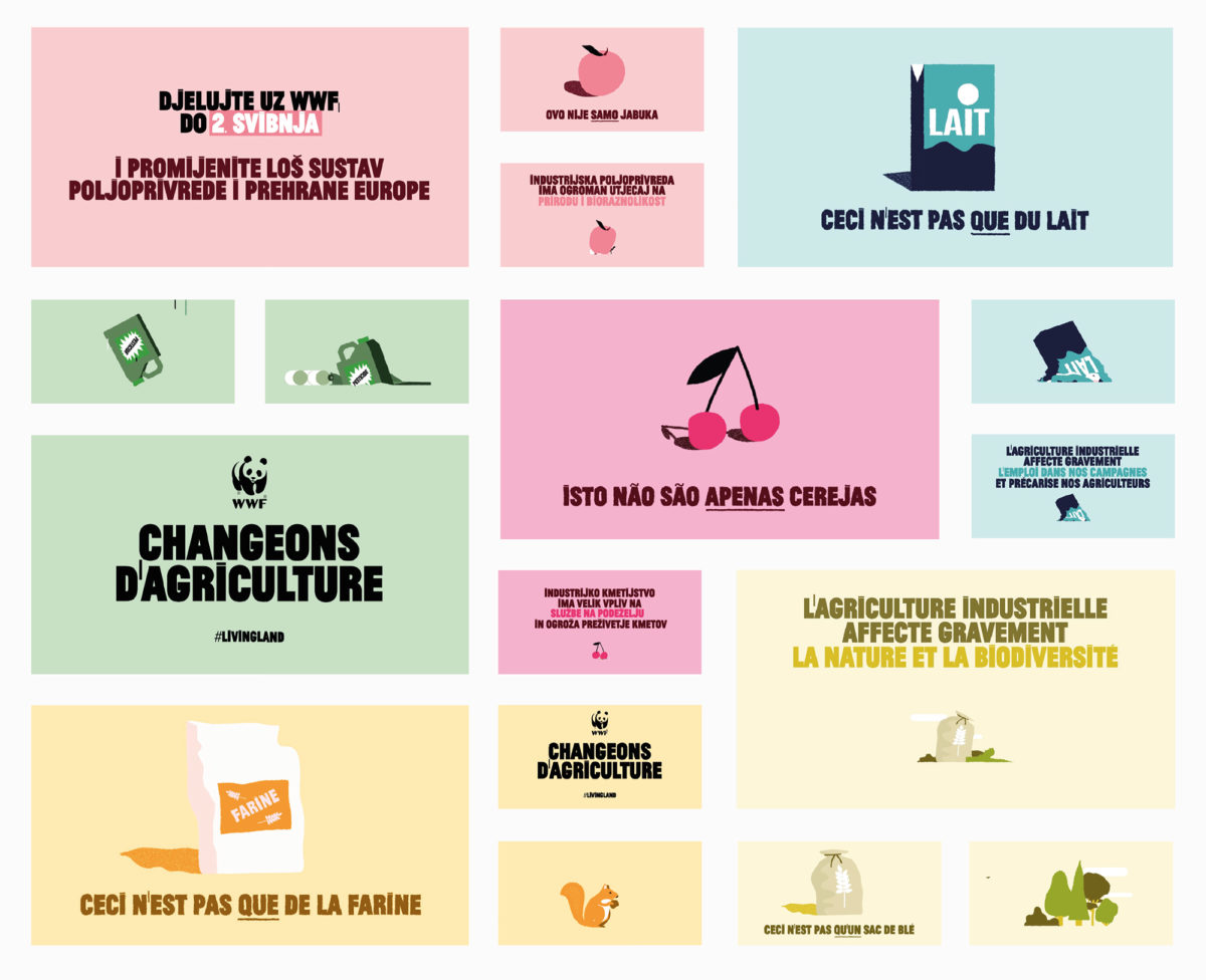WWF social media campagne agence 4aout